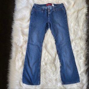 levi woman bootcut jeans